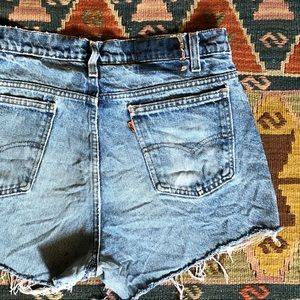 Vintage Levi's Cutoff Denim Shorts 29